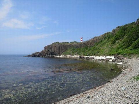 高野崎の海岸