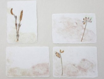 和紙工房 松鹿の紙漉き体験